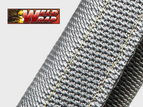 Gaine Tressée Fils de Silice - Weld Wrap® HD